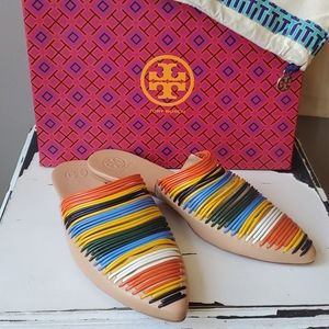 Tory Burch Sienna Flat Slide Sandals